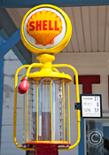 old Shell Oil Gas Pump